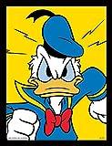 Pyramid International Donald Duck (Mad) 30x40 cm gerahmter