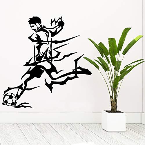 Tianpengyuanshuai behang zelfklevend vinyl voetbal voor kinderkamer wandlamp waterdicht kunstdecoratie