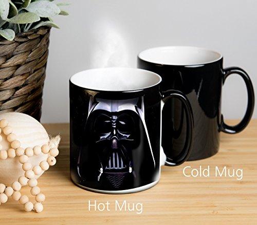 Star Wars Darth Vader Magical Colour Changing Mug! Ideal as tea mug, coffee mug, tea cup, coffee cup, hot chocolate cup, hot chocolate mug. Great gift for birthdays, Christmas, Anniversary etc. Ideal for any Star Wars Fan