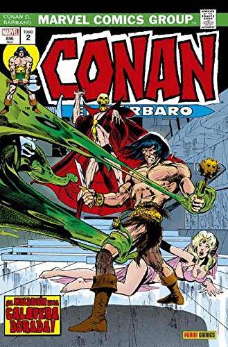 Conan El Bárbaro 2. La Etapa Marvel Original: ¡LA MALDICIÓN DE LA CALAVERA DORADA! (MARVEL OMNIBUS)