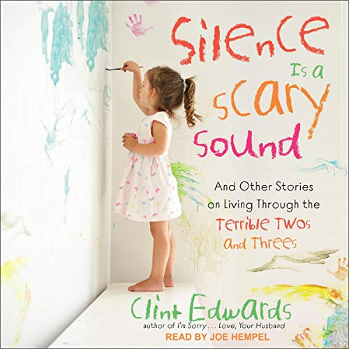 Silence is a Scary Sound audiobook cover art