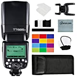 GODOX TT685S TTL Thinklite Camera Flash High-Speed Sync 1/8000s GN60 2.4G Wireless Master Slave Flash Speedlite Compatible for Sony A77II A7RII A7R A58 A99 ILCE6000L DSLR Cameras TTL Autoflash(TT685S)