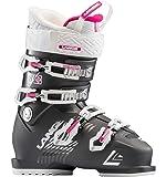 Lange Sx 80 Damen Skischuhe, Damen, LBH6220_25.5, anthrazit/Magenta, 25.5