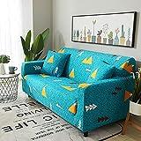 Funda de sofá elástica para Sala de Estar, Funda de sofá, sofá, Asiento de Soplo, decoración del hogar, sofá de Esquina, Montaje de sofá, Funda A16, 4 plazas