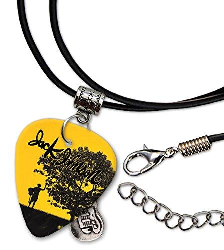 Jack Johnson Guitarra Plectro Cord Necklace Collar (F1)