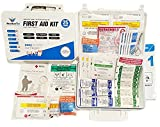 First Aid Kit Complete ANSI: Class A 2016 · Emergency Preparedness Kit · Business · Home · Camping · Boat · Outdoors · Sports - ResQue1st