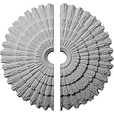 Ekena Millwork 24 3/4-Inch OD x 3 1/4-Inch ID x 1 7/8-Inch P Eryn Ceiling Medallion