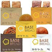 BASE BREAD ベースブレッド BASE BREAD 5種セット 4袋x5種 (プレーン・チョコ・メープル・シナモン・カレー 各4袋) 完全食 完全栄養食 食物繊維