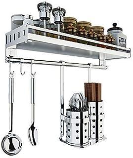 LIIYANN Support à épices Cuisine Support de Rangement Mural étagère de Cuisine Organisation de la Bouteille d'épice Double...