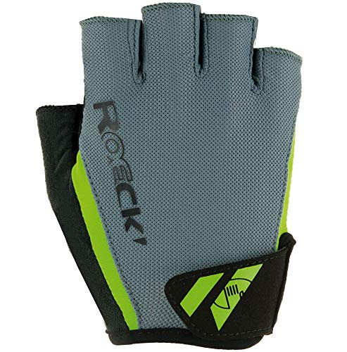 Roeckl Herren Ilio Handschuhe, schwarz/Blau, 10