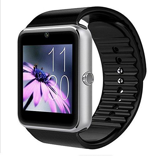 GT08 Bluetooth 3.0 reloj inteligente con cámara de SIM para Samsung Sony teléfono Android