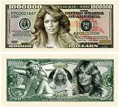 (10) Farrah Fawcett Million Dollar Bill