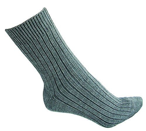 Original Socken der Deutschen Bundeswehr Strümpfe lange und kurze Variante Grau Schuhgrößen 38-48 (45, Kurz)