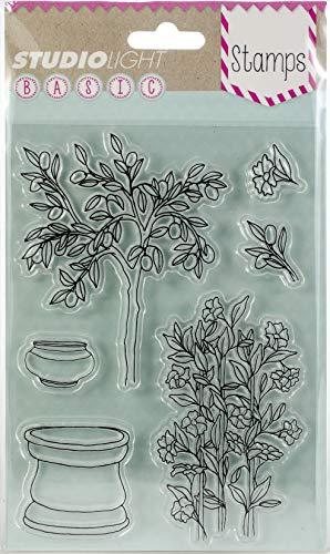 Tuin Clear Stamps - A6 10.5x15cm - Voor het maken van uw eigen beaurifut Kaarten en Scrapbook