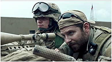 Bradley Cooper 8 x 10 Photo American Sniper as Chris Kyle & Kyle Gallner/Goat-Winston kn