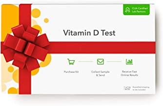 Everlywell Vitamin D Test - at Home - CLIA-Certified Adult Test - Discreet Blood Analysis - Results Within Days - Measures Vitamin D Levels - Not Available in NY, NJ, RI