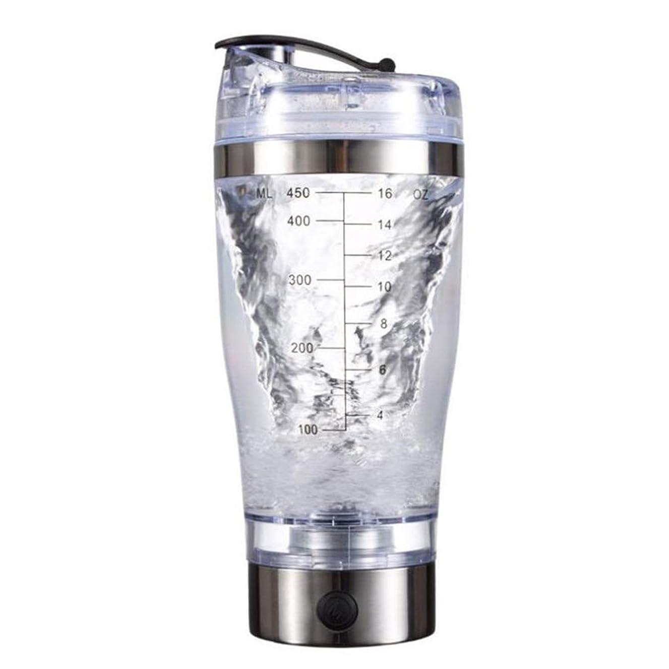 有名なバイオリニストアトムAlioay 電動シェーカー プロテインシェーカー プロテインミキサー シェーカーボトル ミキサー 電池式 450ml 多機能 コーヒーミキサー 自動 電池式 栄養補給 健康素材 漏れ防止