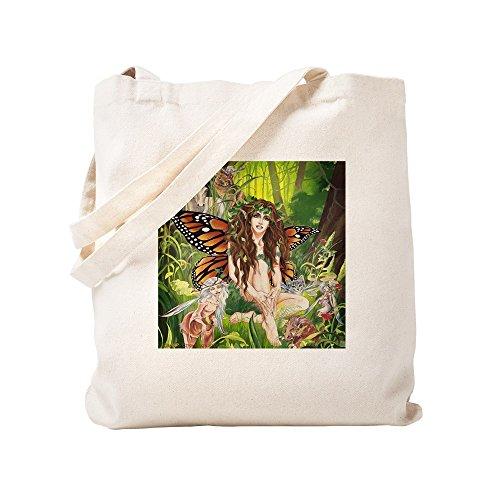 CafePress Ruth Terra Faerie von Thompson–natürliche Canvas Tote Bag, Tuch, mit Tasche, canvas, khaki, S