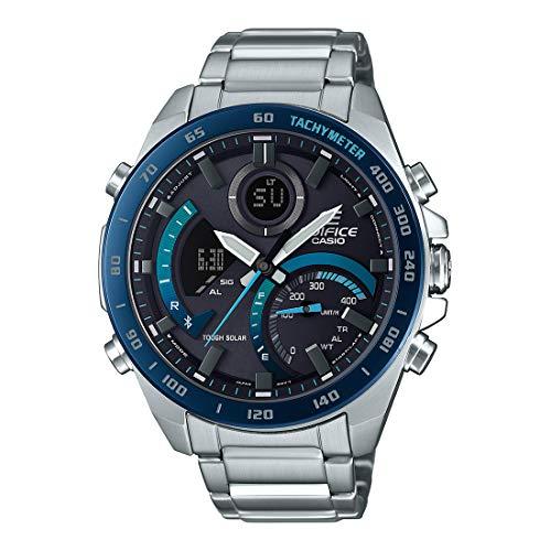Casio Edifice Bluetooth Connect Analog-Digital Black Dial Men's Watch ECB-900DB-1BDR(EX500)