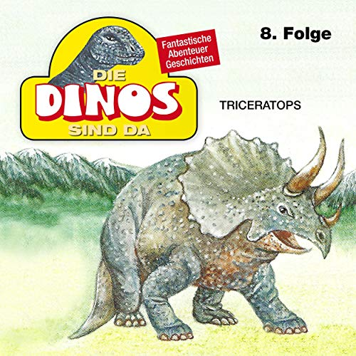 Triceratops cover art