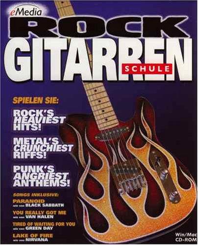 eMedia Rock Gitarren Schule. CD-ROM für Windows ab 95/ für Mac ab 7.5.3+