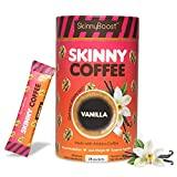 Skinny Boost Skinny Coffee- (Vanilla Flavored) Instant Slimming Coffee Blend Made with premium...