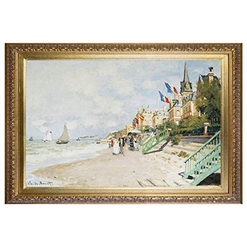 Claude Monet Wall Art Reproduction Monet's Paintings Canvas Lily Flowers Bridge at Sea Rose