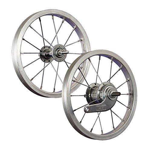 Taylor-Wheels 12 inch wielset aluminium/RBN - zilver