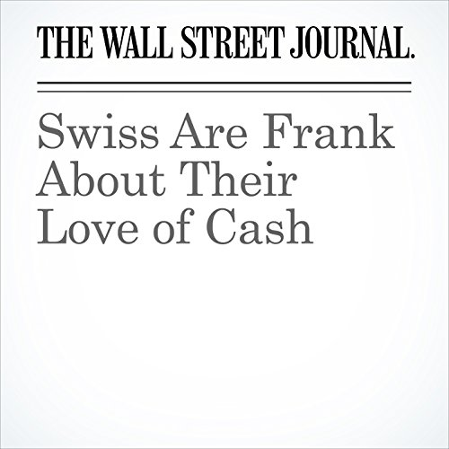 Swiss Are Frank About Their Love of Cash copertina