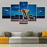 Leinwanddruck Modulare Leinwandbilder Wandkunst Jungen