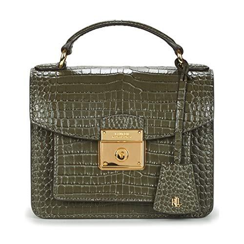 LAUREN RALPH LAUREN HERITAGE LOCK BECKET SATCHEL SMALL Handtassen dames Grijs - One size - Handtassen kort hengsel