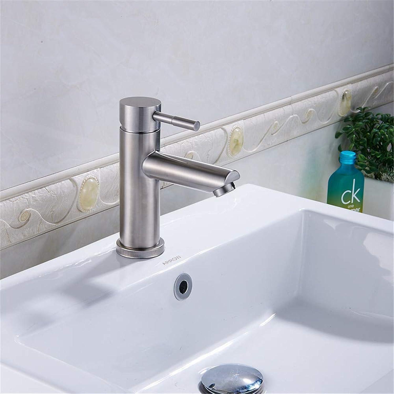 Oudan 304 Stainless Steel Kitchen Sink Faucet Kitchen Sink Vegetables Basin Bathroom Washbasin Faucet (color   -, Size   -)