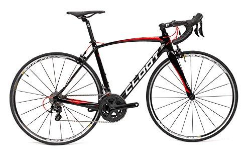 CLOOT Bicicleta Carretera Carbono-Bicis de Carbono Carretera Evolution Road Carbono Evo7 Mavic Aksium y Full Shimano 105 (Talla 53)