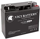 VICI Battery VB18-12 - 12V 18AH Replacement for Xantrex Technology XPower Powerpack 300 Plus Jump Starter 18Ah Battery