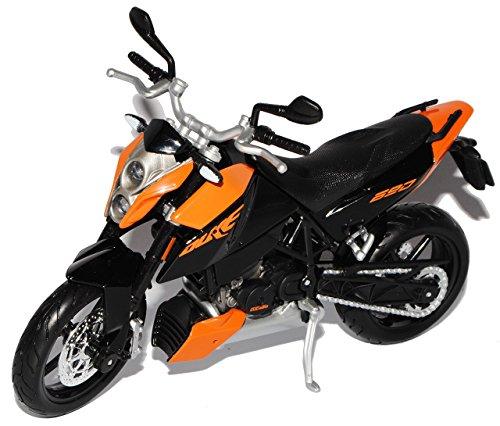 Maisto K-T-M 690 Duke 3 Schwarz Orange 1/12 Motorradmodelle Motorrad Modell