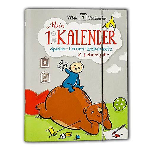 Mein 1. Kalender, die Fortsetzung, Baby Tagebuch, Spielen Lernen Entwickeln 2. Lebensjahr, Geschenk zum 1. Geburtstag, A5