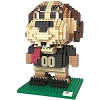 FOCO NFL New Orleans Saints BRXLZ 3D Blocks Set - Mascot, Team Color, One Size