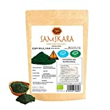 Espirulina en Polvo Ecolóogico | SAMSKARA SUPERFOODS | Organic certified Spirulina Powder | BIO Algae (250gr)