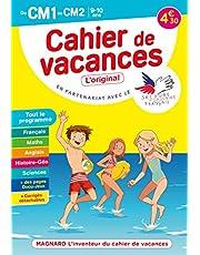 Cahier de vacances 2021, du CM1 vers le CM2 9-10 ans: Magnard, l'inventeur du cahier de vacances (2021)