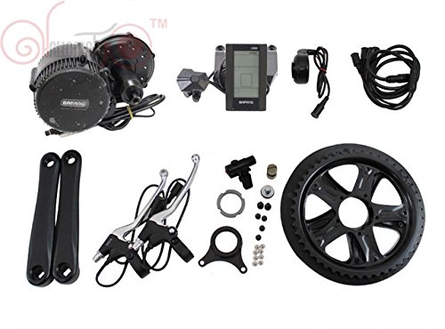 Bafang BBS02 48V 500W 8fun Mittelmotor Conversion Kits with Built-in Controller