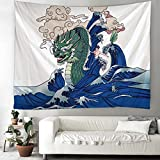 Pintura de tinta tapiz arte decorativo manta colgante de pared...