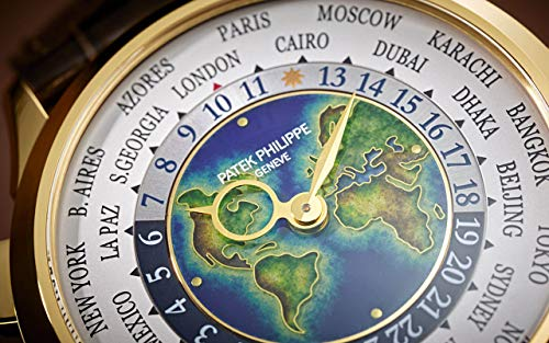Patek Philippe Complications Yellow Gold 5231J-001 with Cloisonné Enamel dial
