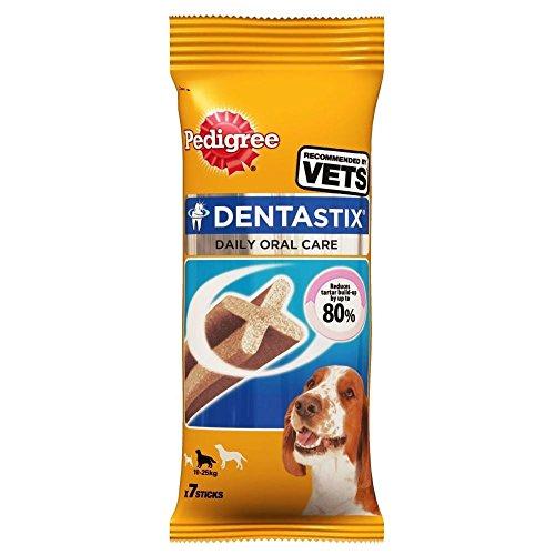 Pedigree Dentastix Pour Chiens De Taille Moyenne (7 Par Paquet - 175G)