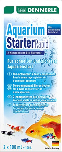 Dennerle 1681 Aquarium Starter Rapid, 200 ml