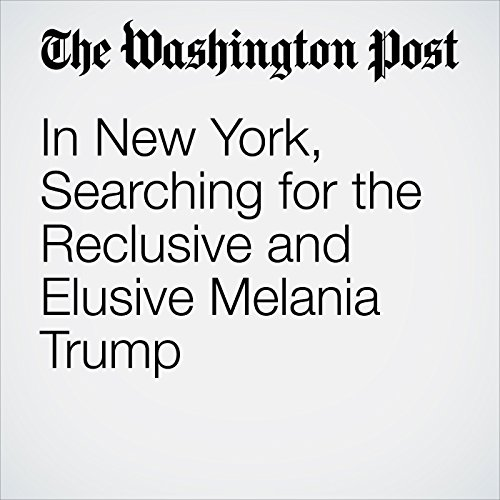 In New York, Searching for the Reclusive and Elusive Melania Trump copertina