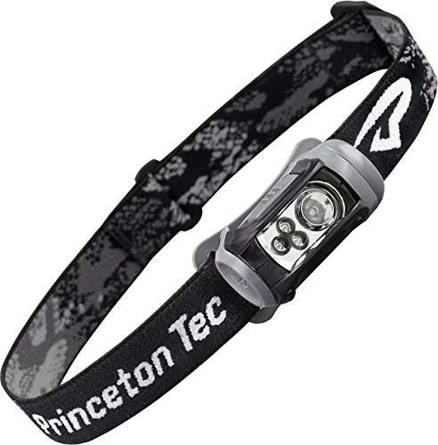 Princeton Tec Remix LED Headlamp (125 Lumens, Black w/Red LED's)