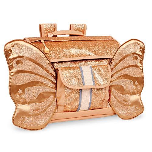 Bixbee Kids Backpack, Sparkalicious Gold Butterflyer, Small