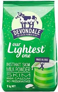 Devondale 德运 脱脂速溶全脂进口成人奶粉 1kg (1袋)