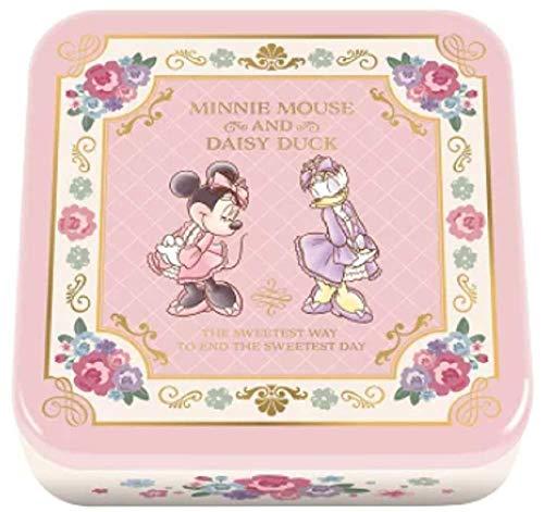 ミニーマウス&デイジーダック ホワイトデー お菓子 スクエアギフト缶 in チョコ 詰め合わせ ディズニー ハート バレンタイン お返し ギフト
