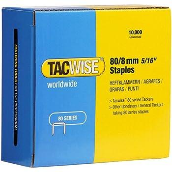 Tacwise 0382 Grapas galvanizadas de tipo 80//8 mm
